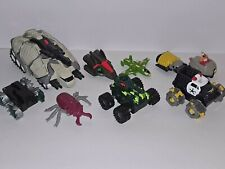 Transformers Attack Pack Hot Wheels LOT Stego-Striker 1993 Carzillas Toy Figure