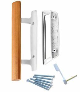 Sliding Glass Door Handle | Wooden Patio Door Handle Set - Excellent Fitting wit