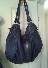 ladies handbags  Beautiful Blue Large Hobo by Nila Anthony   Ships Free  EEUC