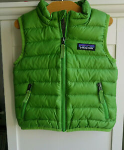 Patagonia Baby Down Sweater Vest Green Size 6 12 Month (29023D)