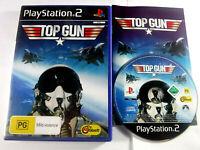 Top Gun PS2 Playstation 2 MINT DISC