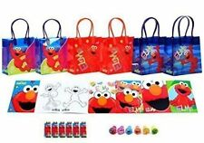 NEW Sesame Street Elmo Party Favor Set  6 Packs 42 Pcs by GoodyPlus SHIPS FREE