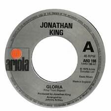 "Jonathan King - Gloria - 7"" Record Single"