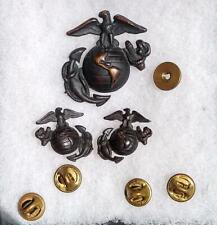 Vietnam - Present Usmc Marine Ega Set Pin Badge Insignia D. Snyder Collection