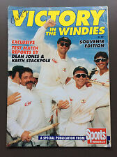 VICTORY IN THE WINDIES Cricket Magazine Souvenir Edition 1995 Good Cond