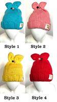 Autumn Winter Warm Baby Boy Girl Kids Soft Cotton Beanie Hat Cap