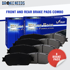 Front and Rear Ceramic Brake Pads VTCRDC000150