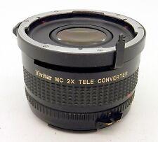 Vintage Vivitar MC 2x Tele Converter for Mamiya 645 #4483