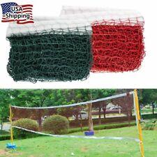 2PCS 20ft Height Badminton Volleyball Tennis Beach Net Set Indoor Outdoor Games