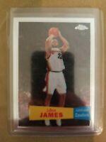2008 LeBRON JAMES TOPPS CHROME RETRO VARIATION #23 BASKETBALL CARD