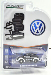 """VW Volkswagen Classic Beetle """" Polis """" scale 1:64 From Greemlight"""