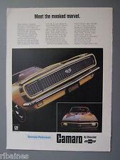 R&L Ex-Mag Advert: Chevrolet Camaro SS 350 V8 Car