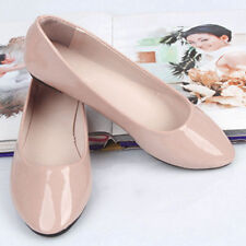 Women Ladies Flat Pumps Candy Ballet Ballerina Dolly Bridal Loafer Shoes Casual