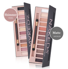 12 Colors Shimmer Or Matte Eyeshadow Makeup Palette Long Lasting Eye Shadow new