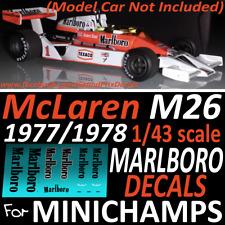 etc 1:18 Namenszug Decals für Schumacher Benetton B193 von Minichamps