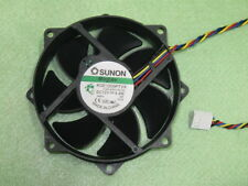 SUNON MagLev KDE1209PTVX 90mm / 80mm x 25mm CPU Round Cooling Fan 4.4W 4Pin B21