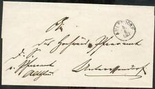 Aulendorf 1860 ca carta de servicio (r0750