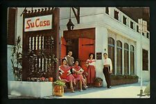 Restaurant postcard Chicago Illinois IL Su Casa chrome
