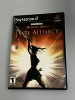 Baldur's Gate: Dark Alliance 1 Complete in case w/ Manual PlayStation 2 PS2