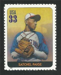 Satchel Paige Cleveland Indians Major League Baseball Black Heritage Stamp MINT!