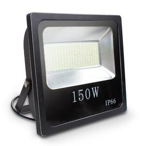 150 Watt LED Außenstrahler Flutlicht Baustrahler Gartenleuchte Arbeitsleuchte