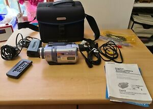Sony Handycam Camcorder Model: DCR-TRV240E & Accessories - Working
