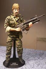 1/6 SCALA disperso in azione 1984 Chuck Morris Custom 12 in (ca. 30.48 cm) Figura Con Arma
