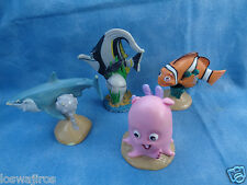 Disney's Finding Nemo Figure 4 Piece Set PVC Toy Cake Toppers