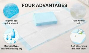 NEW 40PK Economy Pads Adult Incontinence Disposable Bed Pee Underpads 60 x 90cm