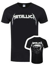 Metallica MOP Photo Men's Black T-shirt