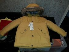 2 - 3 years mustard coloured 3-in-1 winter coat.