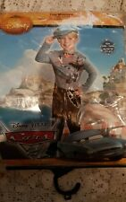 Disney Cars 2 Finn McMissile Classic Toddler/Child Costume size xs 3t-4t