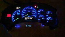 133K Silverado Yukon Sierra Cluster Speedometer 00 01 02 U Pick Color LED