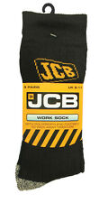 JCB 3 Pack Sandon Sock Black D-WS