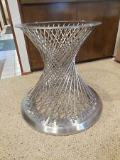 B80 ARMEN LIVING CALYPSO DINING TABLE STAINLESS STEEL BASE ONLY