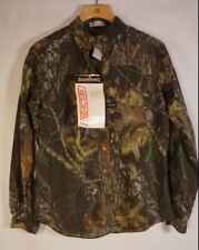 Browning camo Blouse womens Large NEW vented hunting long sleeve button
