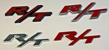 New R/T Emblem 3D Badge Decorative Logo  Sticker Nameplate (1PC)