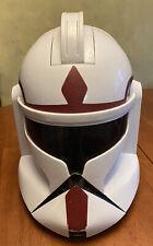 Star Wars Clone Storm Trooper Talking Voice Changer Helmet Hasbro 2008