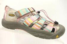Keen Pink Multi-Color Leather Athletic Waterproof Sandal Shoes Girls 5 Y