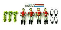 """GI Joe 1987 Sneak Peek 3.75"""" Figure Lot of 4 w/Accessories Hasbro"""
