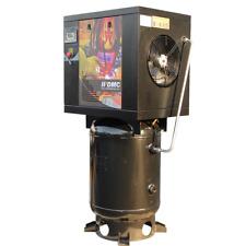 230v 1 Phase 75hp Rotary Screw Air Compressor 175psi 60 Gallon Asme Air Tank