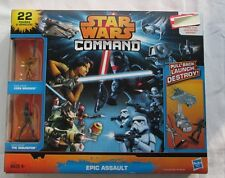 Star Wars COMMAND Epic Assault 22 Vehicles and Figures,UNOPENED