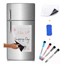 "17""x12"" Refrigerator Dry Erase Magnetic Flexible Blank White Board Message Plan"