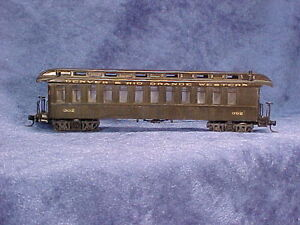 HOn3 D&RGW #302(others) NG open platform PC, plastic w/resin roof, MRGS kit#3302