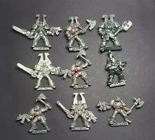Warhammer 40K World Eaters Chaos Space Marines OOP Metal