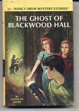 Nancy Drew #25 The Ghost of Blackwood Hall Picture Cover 1980 HC Carolyn Keene