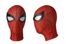 2017 Spider Man Homecoming Peter Parker Cosplay Red Mask Costume Fancy Dress