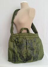 0d9f6b2437 New REEBOK-ROLLAND BERRY Army Green XL Puffy Messenger-Crossbody Bag-RARE