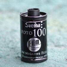 Svema 100 BW 35mm Film (1 Roll)