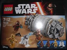 """LEGO Set 75136 STAR WARS """" Droid Escape Pod """" 4 Minifigures R2-D2 C-3PO 2 Java"""